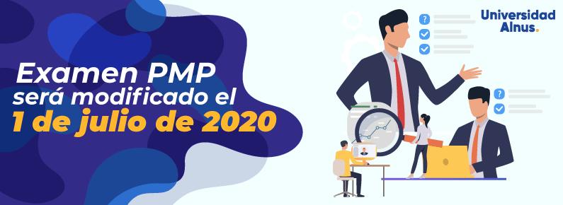 Universidad Alnus - Examen PMP será modificado el 1 de julio de 2020 - titulo