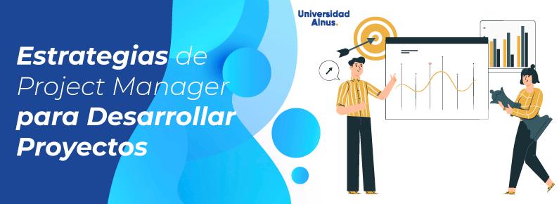Universidad Alnus - Estrategias de Project Manager - titulo