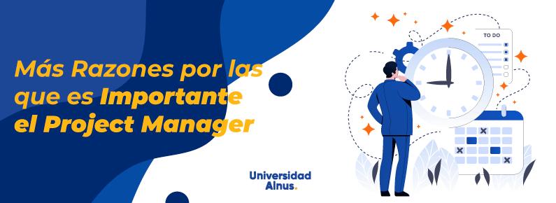 Universidad Alnus - Importante el Project Manager - titulo