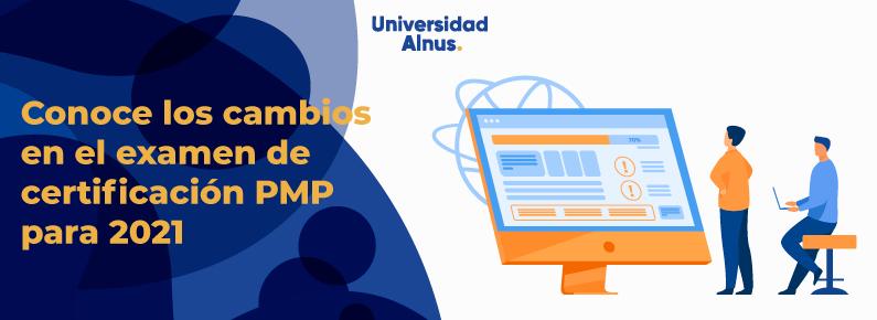Universidad Alnus - cambios en el examen de certificación PMP - title