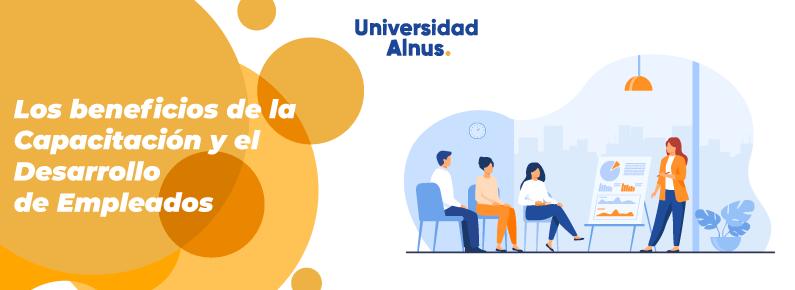 Universidad Alnus - Capacitación y el Desarrollo de Empleados - titulo