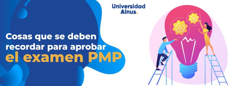 Universidad Alnus - aprobar el examen PMP - titulo